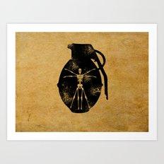 Tool of Death Art Print