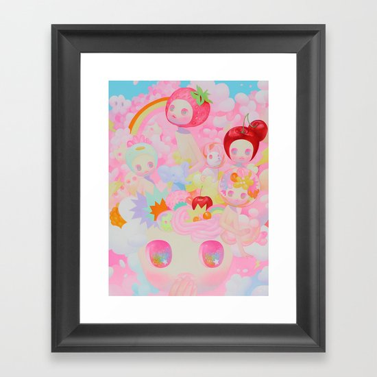 Pep Talk  Framed Art Print