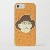 freddy krueger iPhone & iPod Cases featuring Freddy Krueger by Kuki