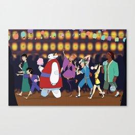 Matsuri Time Canvas Print