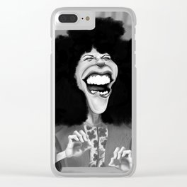 Roseanne Roseannadanna Clear iPhone Case