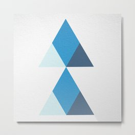 dos triangulo case #1 Metal Print