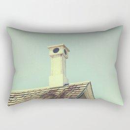 Summer cottage gable roof Rectangular Pillow