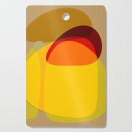 Orange, Yellow and Green Cutting Board