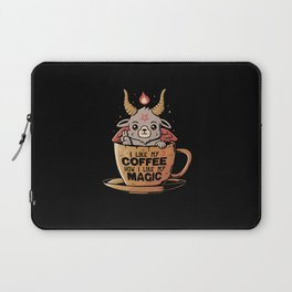 Black Coffee Laptop Sleeve