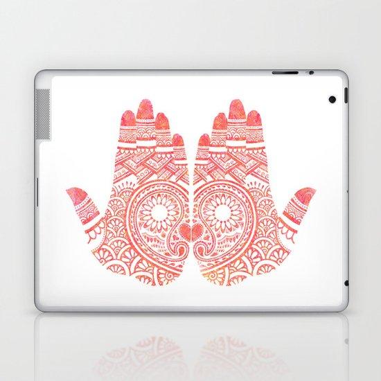 Red Mehndi Laptop & iPad Skin