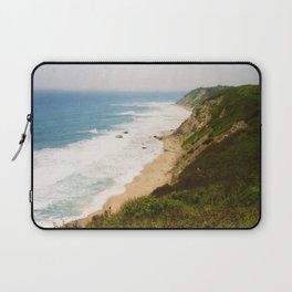 Mohegan Bluffs Cliffside, Block Island, Rhode Island Laptop Sleeve