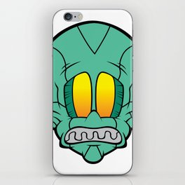 DSOL FACE iPhone Skin