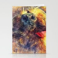 monkey Stationery Cards featuring Monkey by jbjart