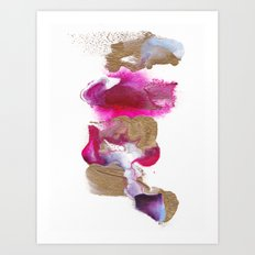 Eloise Abstract Painting Art Print