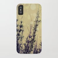 fireflies iPhone & iPod Cases featuring Fireflies by Kanelov