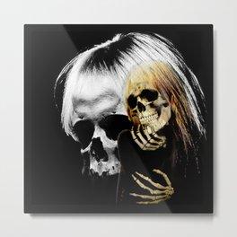Chelsea Skulls Metal Print