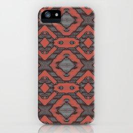 Tribal Rhythmic Play iPhone Case