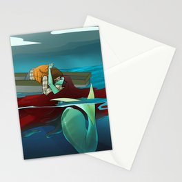 Love at Sea Stationery Cards