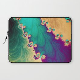 Coloured Smoke Trails Laptop Sleeve