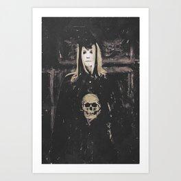 Gothic Motivational  Art Print