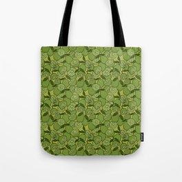 Lime Greenery Tote Bag