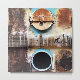 Open & Shut Metal Print