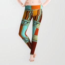 Retro Caro art 1 Leggings