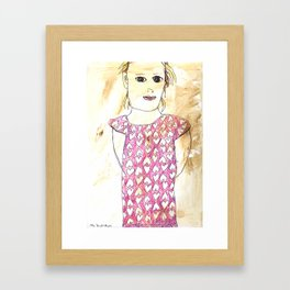 Sienna Framed Art Print