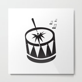 Little Drummer Boy Metal Print
