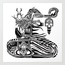 Operation MindFuck Art Print
