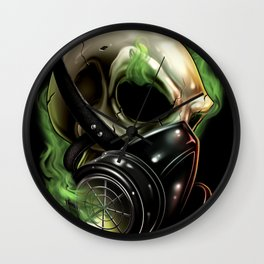 Skull/Gas mask 12 Wall Clock
