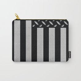 Plated Flag Carry-All Pouch