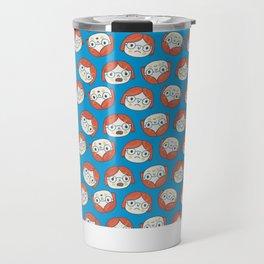 Pattern Project #13 / Mood Swings Travel Mug