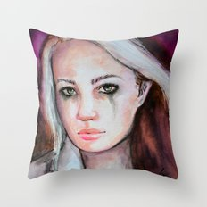 Rogue's Strenght Throw Pillow