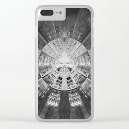 Downtown perspective Clear iPhone Case