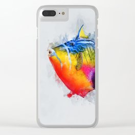 Trigger Fish Clear iPhone Case