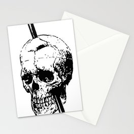 Skull of Phineas Gage With Tamping Iron Stationery Cards