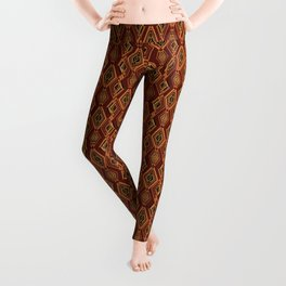 Abstract geometric pattern. Leggings