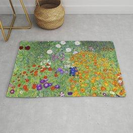 Flower Garden - Gustav Klimt Rug