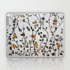 Flowers - Stems - Bossoms - Branches - Pattern Laptop & iPad Skin