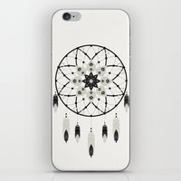dreamcatcher iPhone & iPod Skins featuring Dreamcatcher by Bohemian Gypsy Jane