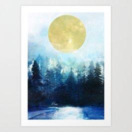 Winter Night 3 Kunstdrucke