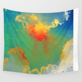 Goldfishes of the Universe Wall Tapestry