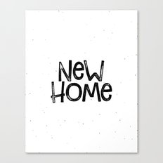 New home Canvas Print