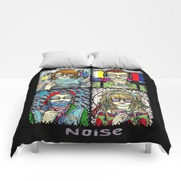 Too much noise Comforters