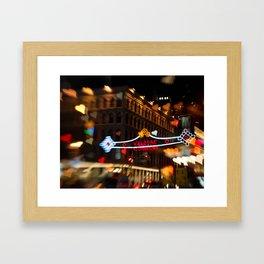 Chinatown Love in New York City Framed Art Print