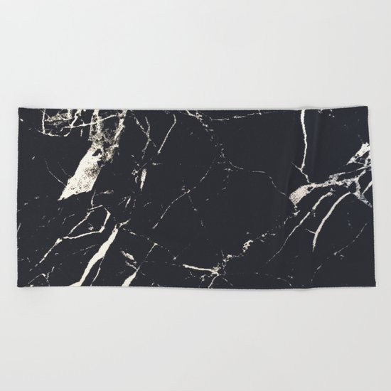 Matte marble Beach Towel