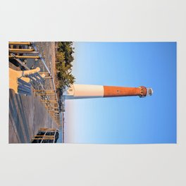 Barnegat Light - Long Beach Island - New Jersey. Rug