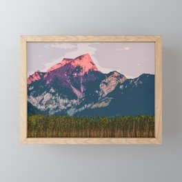 Vast Mountain Framed Mini Art Print