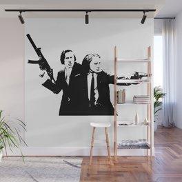 Chopin & Liszt - Gangsters Wall Mural