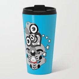 Hei Tiki New Zealand Drum Travel Mug