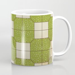 The floor of Western restaurants  Coffee Mug