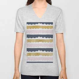 Trifle Pastel Gold Unisex V-Neck
