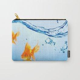 GOLDFISH AQUARIUM WATER ART Carry-All Pouch